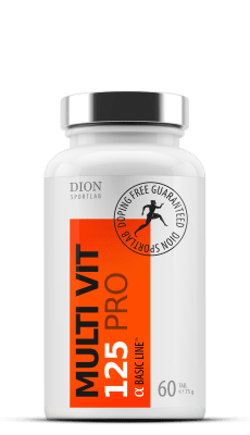 Sports multivitamin MULTI-VIT 125 PRO