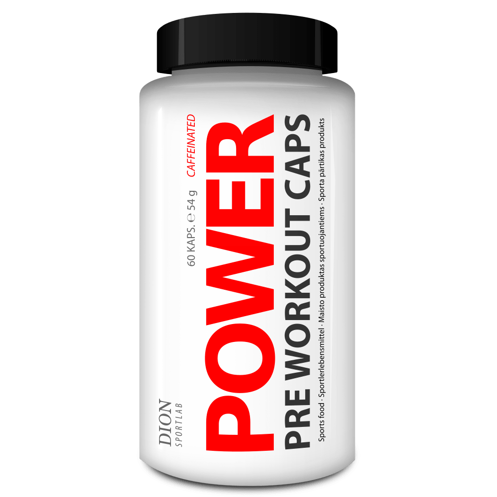 POWER CAPS Pre Workout